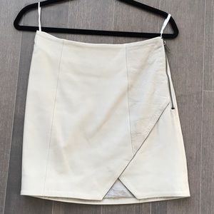 Kookai leather skirt